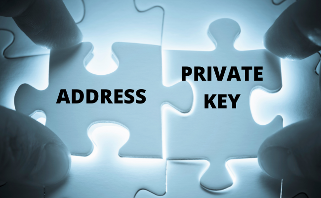 Crypto Wallet - Address and Private Key