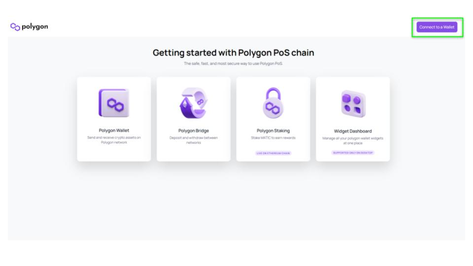 Bridge to Polygon Network - Metamask - 5